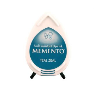 Memento Dew Drop Dye Ink Pad - Teal Zeal