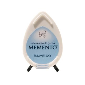 Memento Dew Drop Dye Ink Pad - Summer Sky