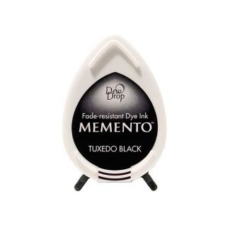 Memento Dew Drop Dye Ink Pad - Tuxedo Black