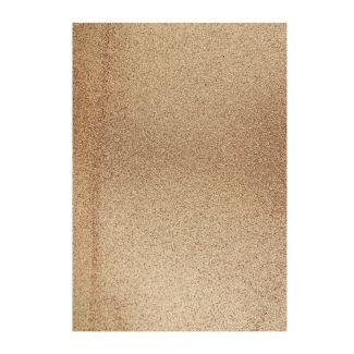 Glitter Card - Light Copper