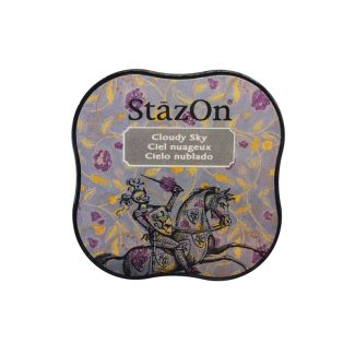 StazOn Midi Permanent Pads - Cloudy Sky