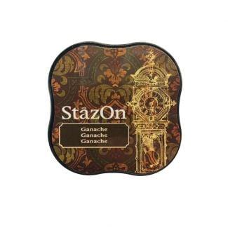 StazOn Midi Permanent Pads - Ganache