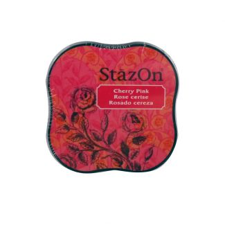 StazOn Midi Permanent Pads - Cherry Pink