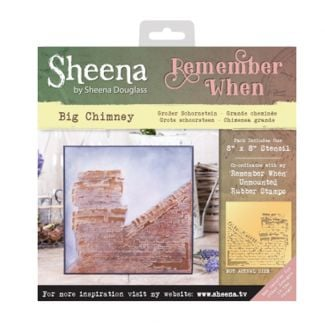 Sheena 'Remember When' Stencils - Big Chimney