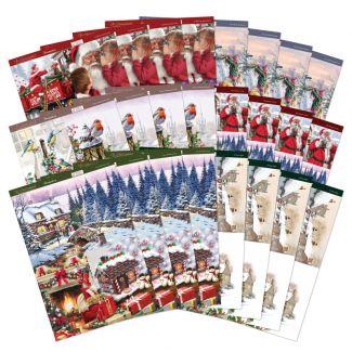 The Joy of Christmas Traditional Decoupage