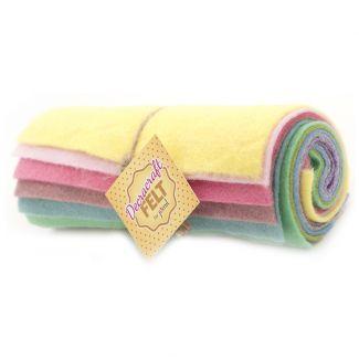 Felt Roll - Pastel Mix
