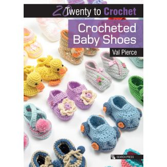 20 to Crochet - Crocheted Baby Shoes