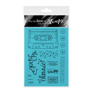 For the Love of Stamps - Retro Mix Tape