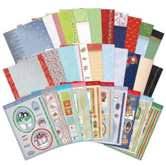 A Cuddly Christmas Luxury Card Collection