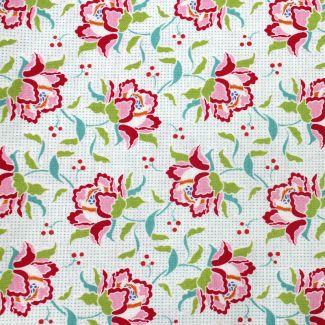 Tilda - Fat Quarters - Clown Flower - linen