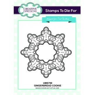 Stamps to Die For - Gingerbread Cookie