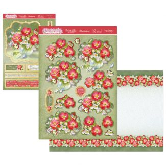 Floral Wishes Designer Deco-Large - Pretty Poppies