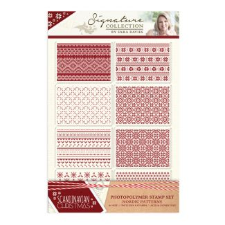 Scandinavian Christmas - Stamp - Nordic Patterns