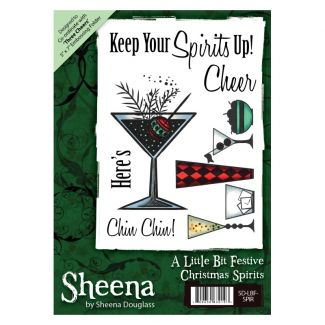 Sheena A6 Xmas Stamp - Christmas Spirits
