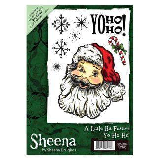 Sheena A6 Xmas Stamp - Yo Ho Ho!