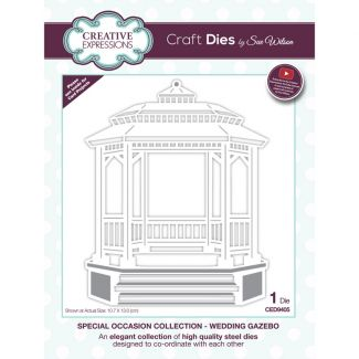 Special Occasions Collection Wedding Gazebo x 1 die