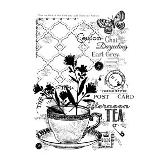 Woodware Clear Stamp - Afternoon Tea