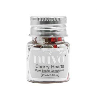 Nuvo Gemstones - Cherry Hearts