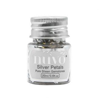Nuvo Gemstones - Silver Petals