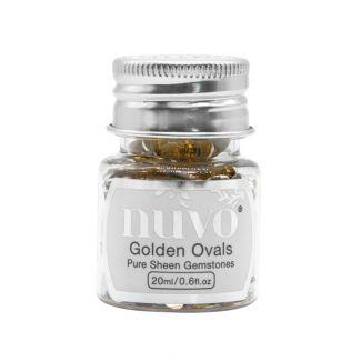 Nuvo Gemstones - Golden Ovals