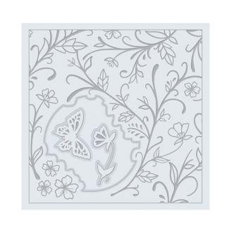 Swirling Flora Die & Embossing Folder