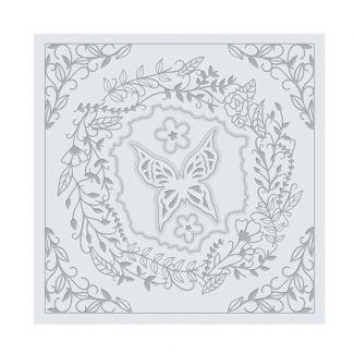 Enchanting Wreath Die & Embossing Folder