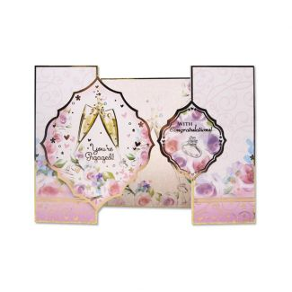 "Fancy Shaped Card Blanks - 6"" x 6"" Centre-Fold"
