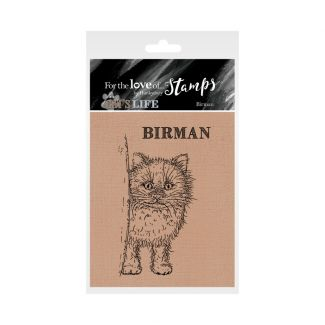 It's A Cat's Life Clear Stamp - Birman