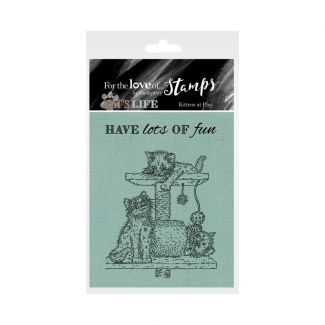 It's A Cat's Life Clear Stamp - Kittens at Play