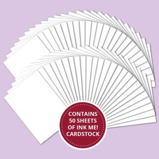 Ink Me! Professional Stamping Card - 50 Sheet Value Pack