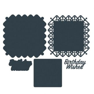The Paper Boutique Birthday Wishes Die Set
