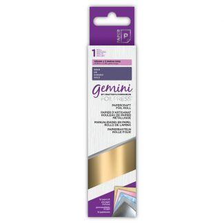 Gemini - Papercraft Foil - Gold x 5m