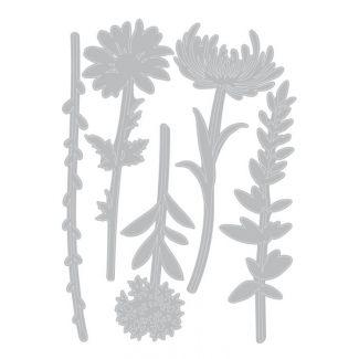 Sizzix Thinlits Die Set - Wildflower Stems #1 by Tim Holtz