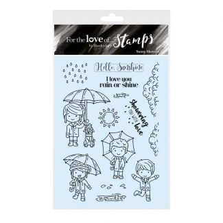 For the Love of Stamps - Sunny Showers