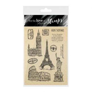 For the Love of Stamps: Rose Gold Collection - Bon Voyage