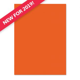 Adorable Scorable A4 Cardstock x 10 sheets - Orange Zest