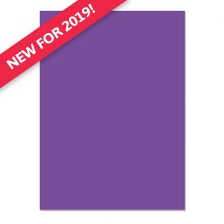 Adorable Scorable A4 Cardstock x 10 sheets - Royal Purple