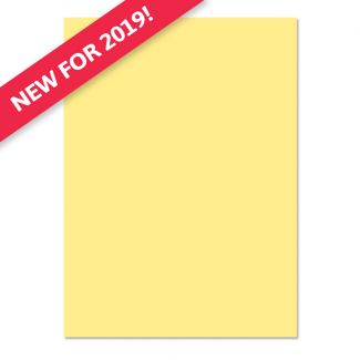 Adorable Scorable A4 Cardstock x 10 sheets - Lemon Squeeze