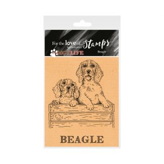 It's a Dog's Life Clear Stamp - Beagle