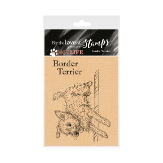 It's a Dog's Life Clear Stamp - Border Terrier