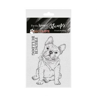 It's a Dog's Life Clear Stamp - French Bulldog