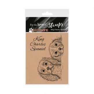 It's a Dog's Life Clear Stamp - King Charles Spaniel