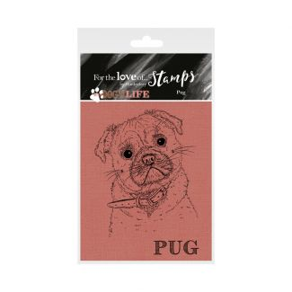 It's a Dog's Life Clear Stamp - Pug