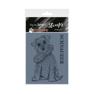 It's a Dog's Life Clear Stamp - Schnauzer