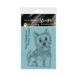 It's a Dog's Life Clear Stamp - West Highland Terrier