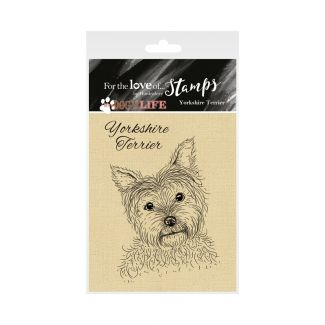 It's a Dog's Life Clear Stamp - Yorkshire Terrier