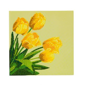 Crystal Card Kit - Spring Tulips