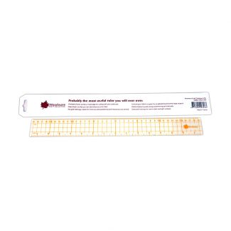"""Woodware Craft Tool - Very Useful Ruler - 15"""""""