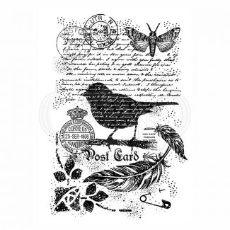 Woodware Clear Stamp - Bird on a Branch