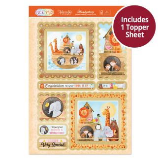 Pick 'N' Mix Topper Sheet - Animals on the Ark